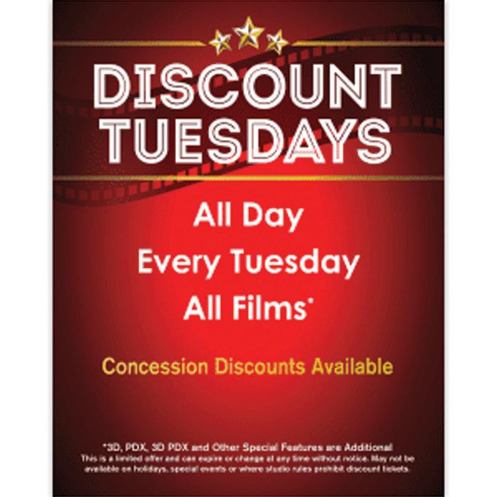 B&B Theatres Discount Tuesdays