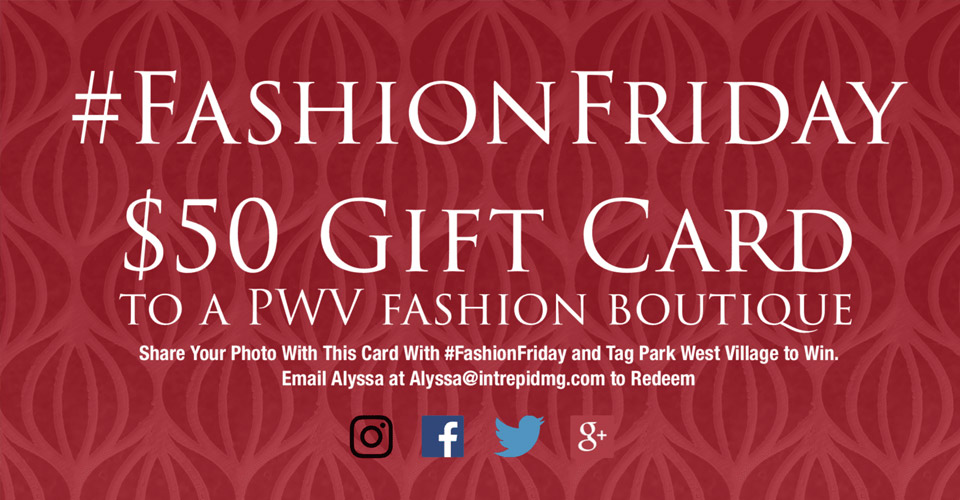 Fashion Friday Giveaway