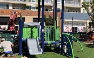 Playground Re-Opened