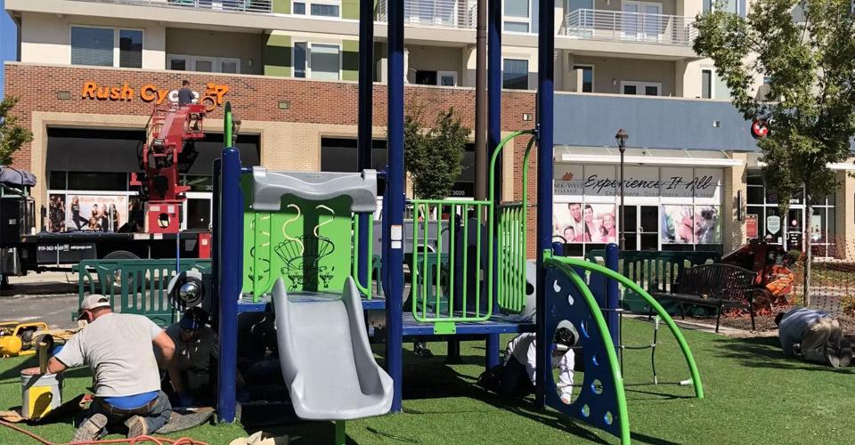 Playground @ Park West Village