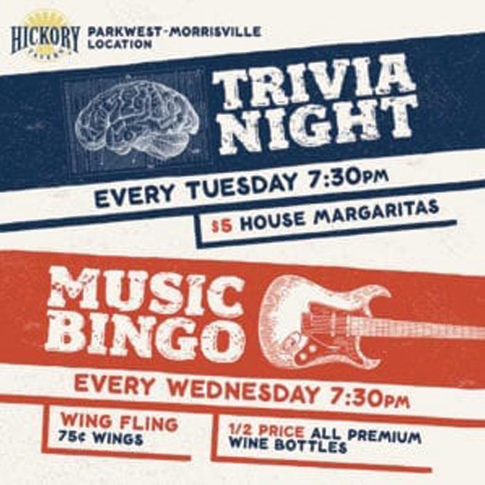 Hickory Tavern Trivia Night