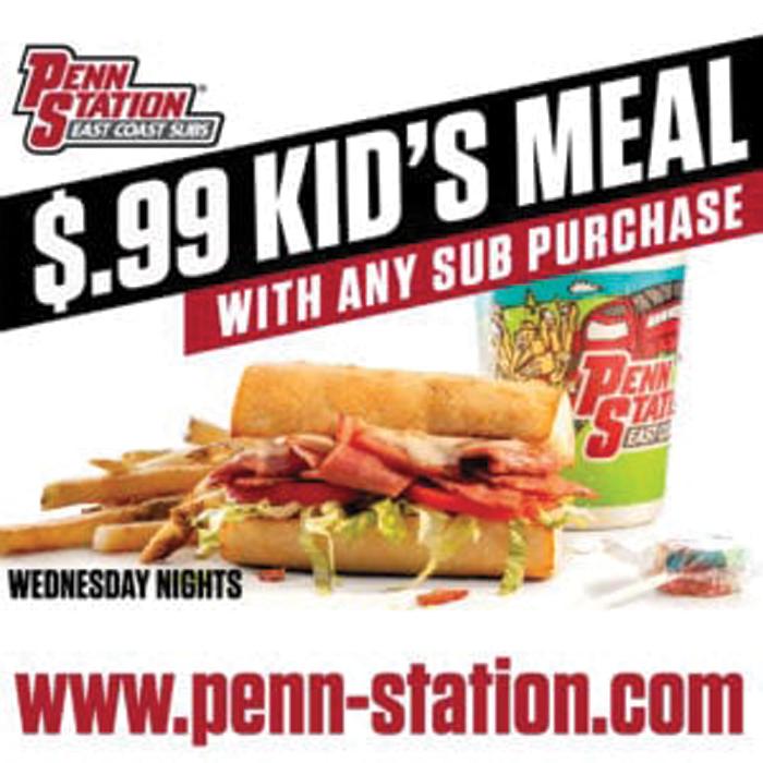 Penn Station Kids Meal